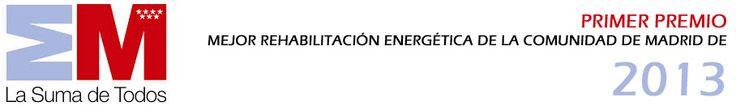 primer premio Rehabilitación Energética Integral de la Comunidad de Madrid