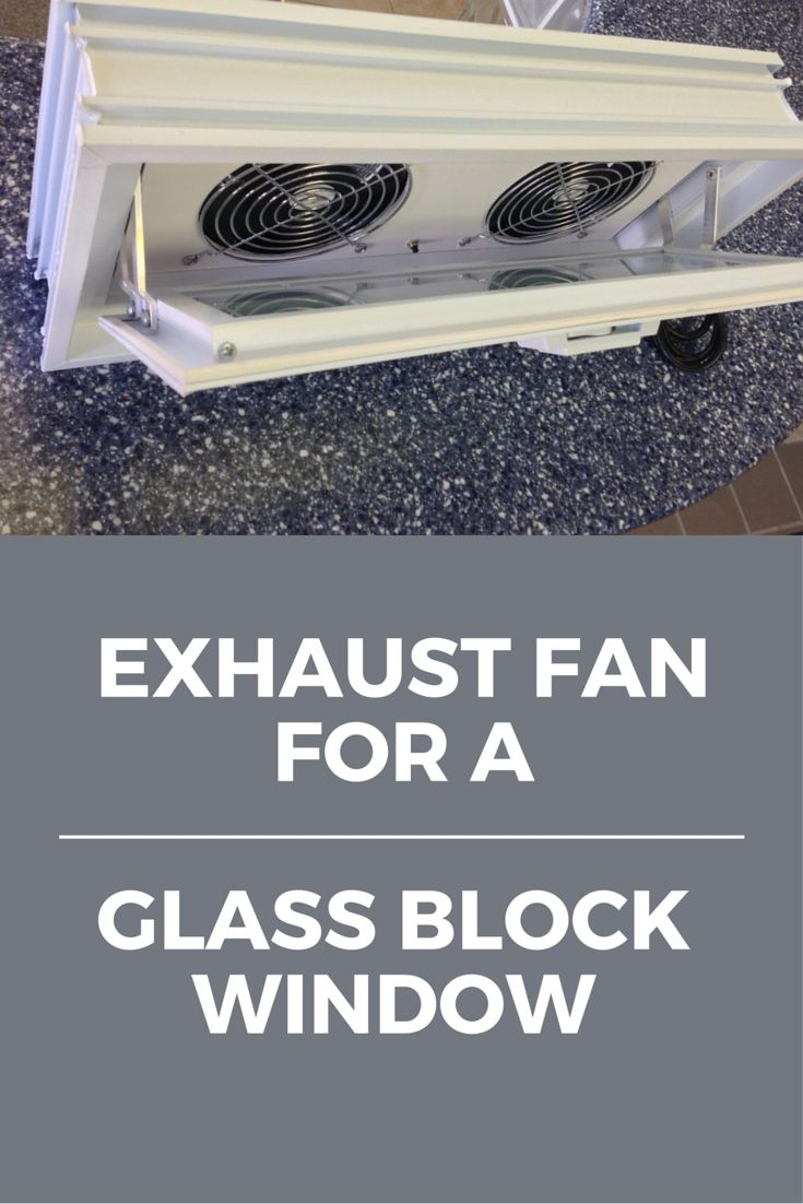 Tip 4 (of 5) to improve your basement - use an exhaust fan installed in a glass block window to circulate air. All 5 tips here - http://blog.innovatebuildingsolutions.com/2015/10/30/5-tricks-cure-spooky-basement-windows/