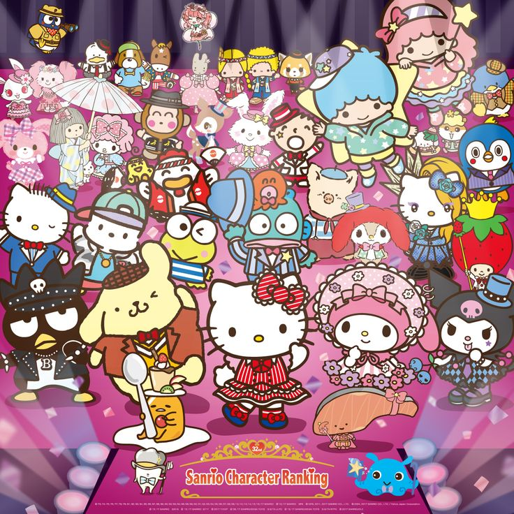 It's that time of year again! You have until June 10th to vote as many times as you can for your favorite Sanrio character(s) in the 32nd Annual Character Ranking.