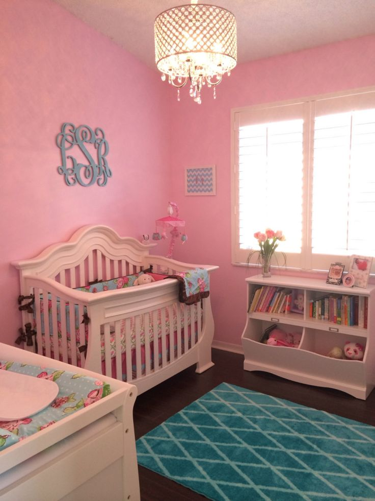 17 Best Images About Pink Baby Rooms On Pinterest Pink