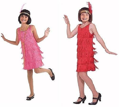 Flapper Girls Costume Little Miss Flapper Dress w Headband New in Package #ForumNovelties #Dress