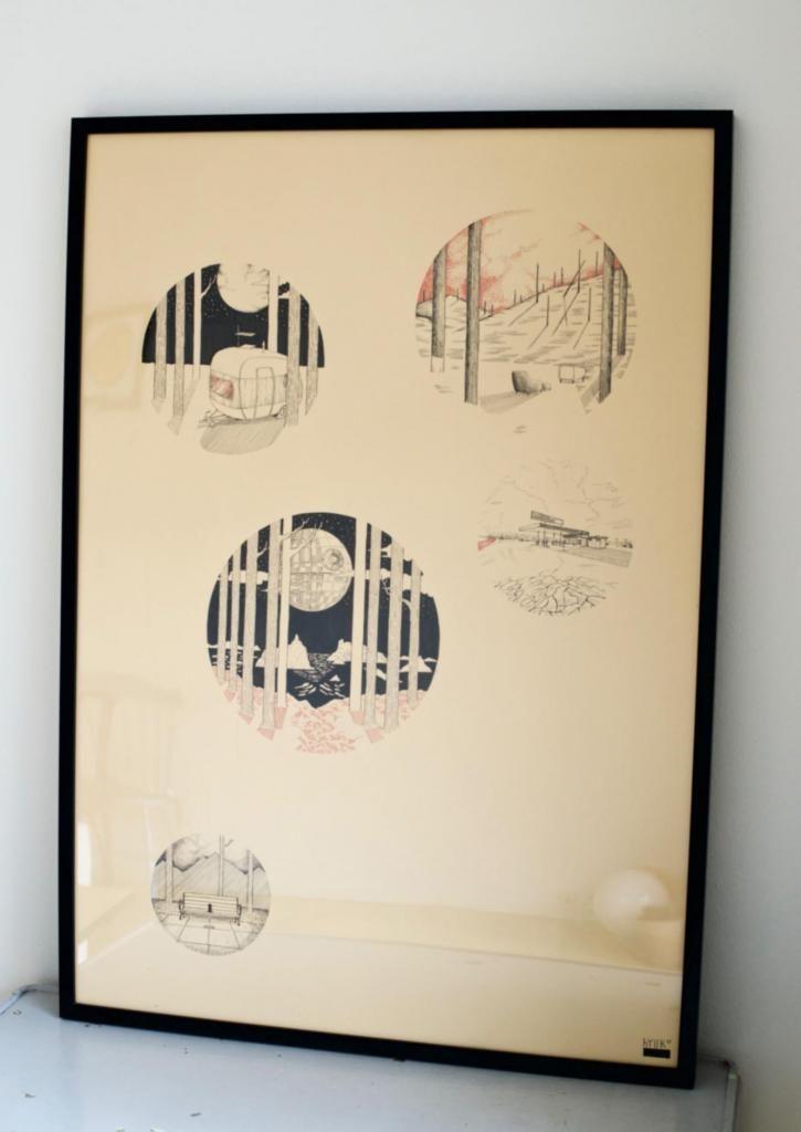 Ambience by Hyuk #art #artist #painting #drawing - Beauton Art Gallery - http://beautonart.com | http://beautonart.dk