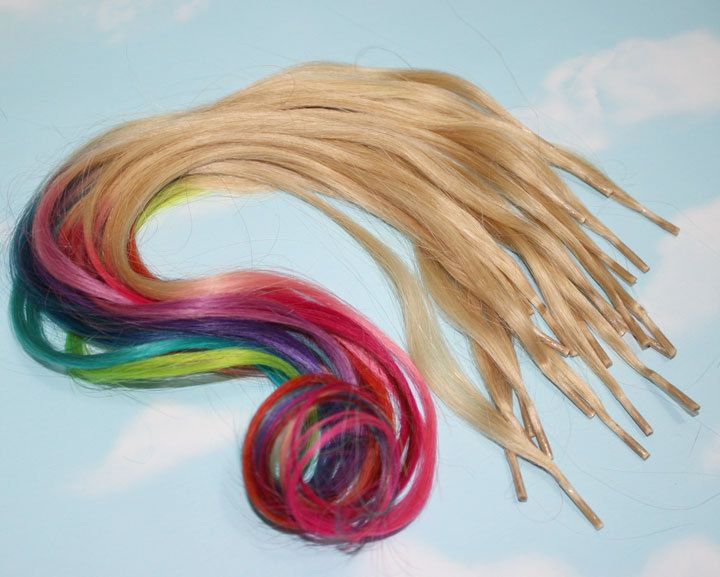 25 best hair extensions images on pinterest human hair rainbow dipped dyed hair itips pre bonded keratin tip human hair extensions colored hair festival tie dye hair extensions pmusecretfo Images