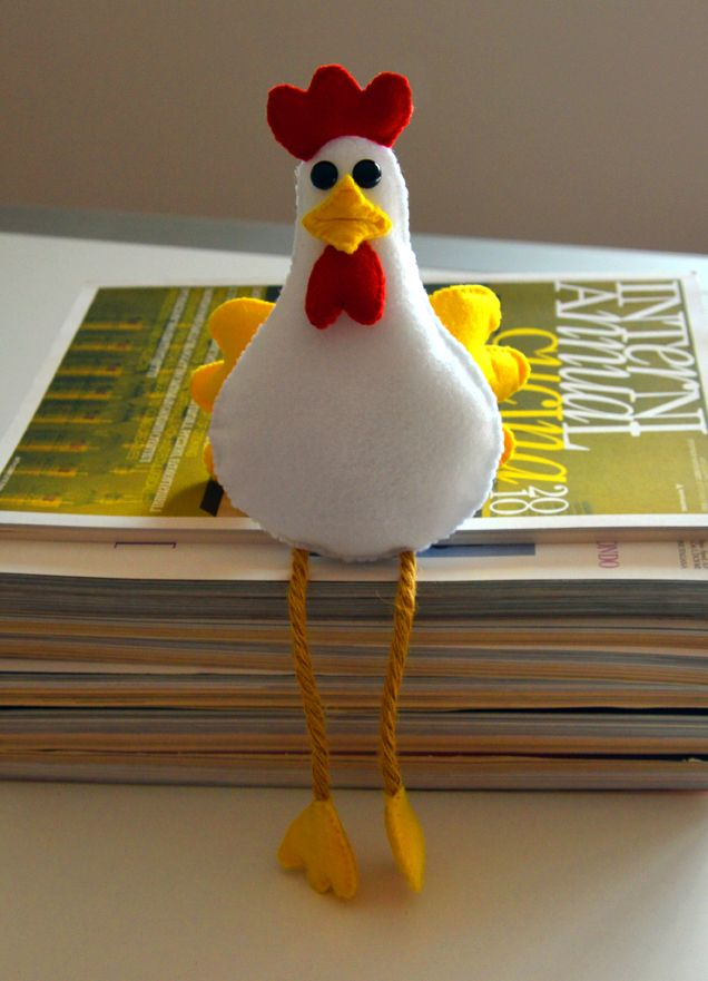 La gallinella in pannolenci. Una decorazione per prepararsi alla prossima primavera
