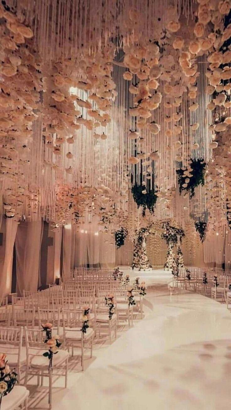 62 Extravagant White Indoor Wedding Ceremony #weddingideasonabudget #weddingideasdecoration » agilshome.com