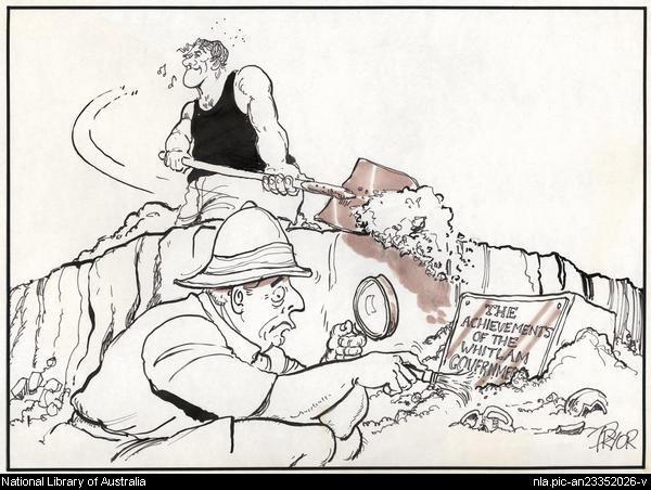 Fraser Whitlam Cartoon