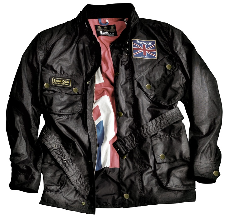 Mens Barbour union jack international, classic and iconic!