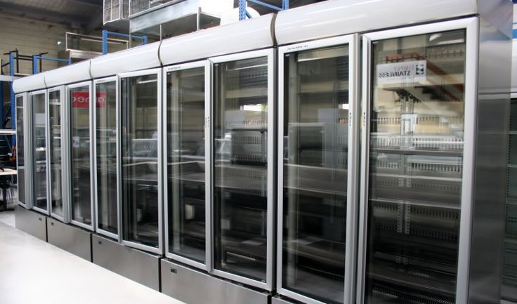 Skope B900 Stainless Steel 2 Door Double Sided Upright Chiller, Used Catering Equipment, Second hand Catering equipment