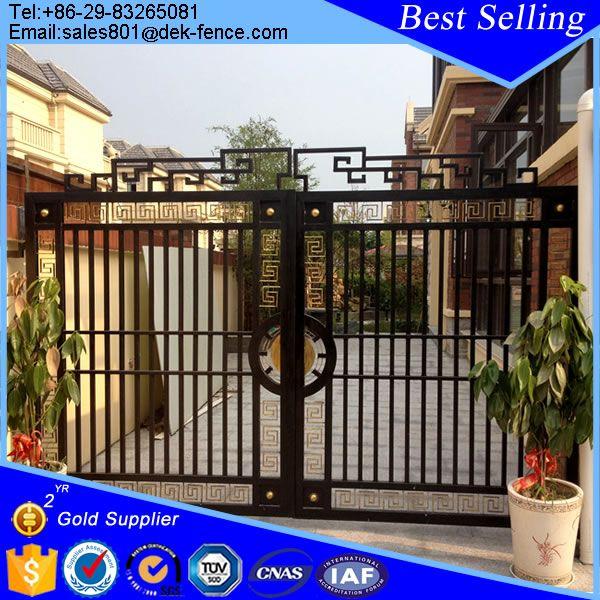 Look what I found Via Alibaba.com App: - Modern Steel Gates Grill Design