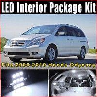 Wish | 15 x Xenon White LED Lights Interior Package Kit for 2005-2010 Honda Odyssey