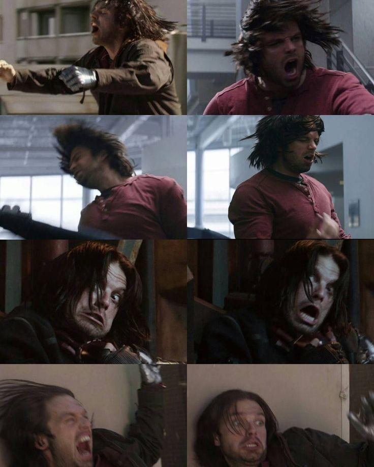 So many great Bucky faces haha