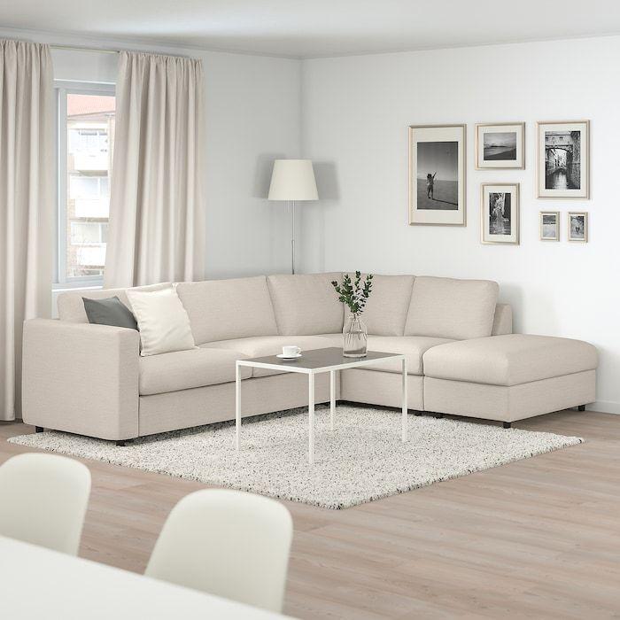 Vimle Corner Sleeper Sofa 4 Seat