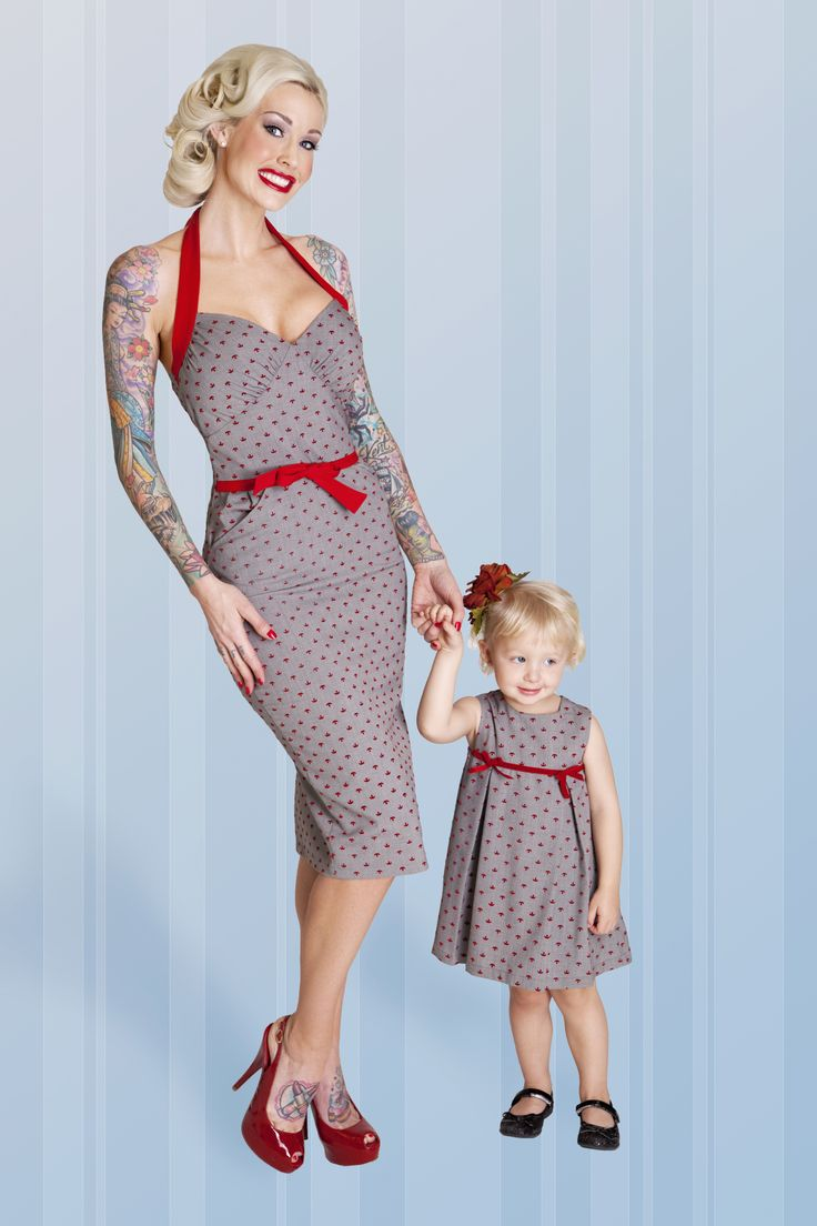What can I say?Little Girls, Matching Outfit, Mothers Daughters, Pinup Girls, Baby Girls, Betty Pages, Fashion Pictures, Kids Clothing, Vintage Clothing