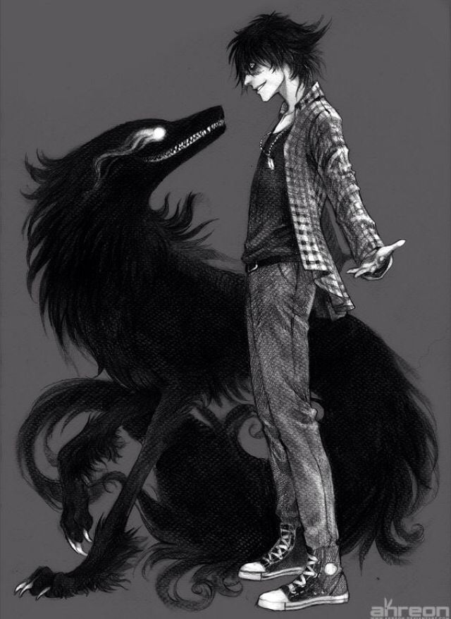 HMM kinda like starring at your animal or darker side in the face neat isnt it