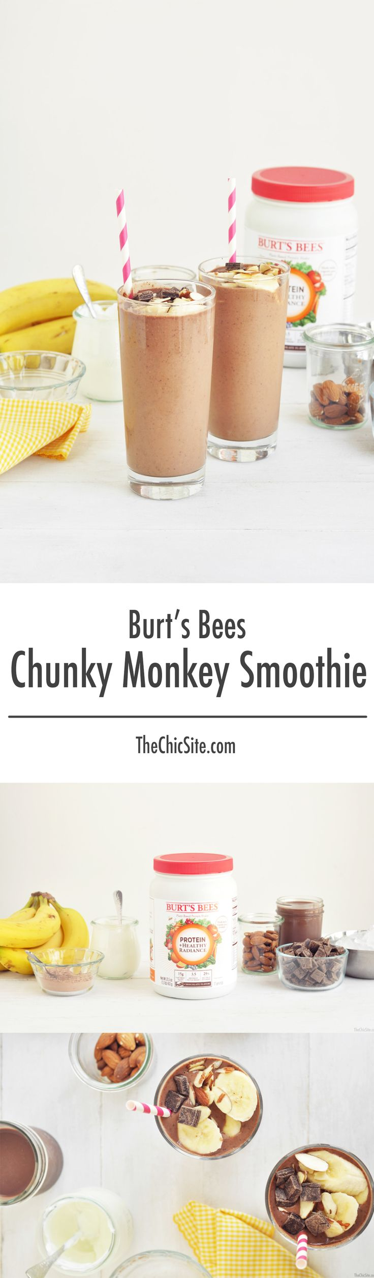 113 Best Smoothies And Drinks Images On Pinterest Chic Better Sq Chunky Bar White 100 Gr Ive Partnered With Burtsbees To Create A Healthy Version Of The Classic