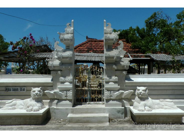 Menjangan chrám Pura Taman Beji