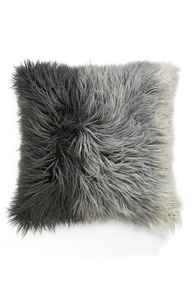 Free shipping and returns on Nordstrom at Home Ombré Faux Fur Flokati Accent Pillow at Nordstrom.com. A touchable faux fur accent pillow gains depth from an ombré dye job.