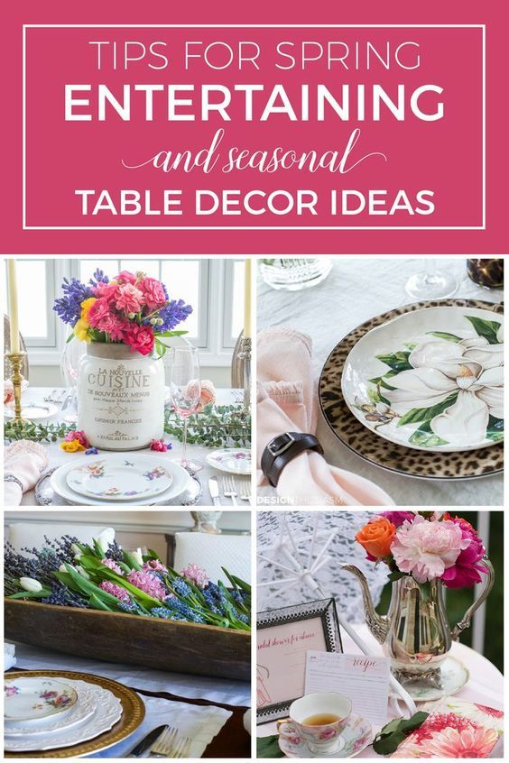 spring table decorations ideas for entertaining with seasonal flair rh pinterest com