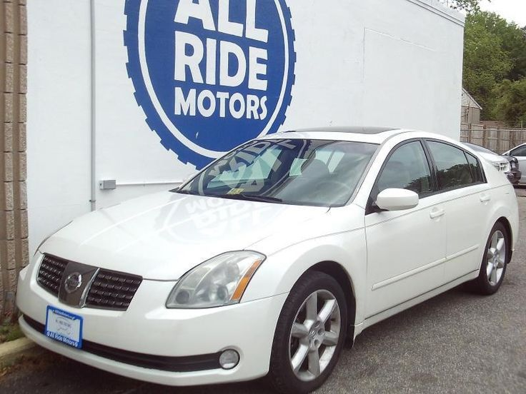 Keep an eye on this beautiful 2006 Nissan Maxima before it's gone! It's here at a great new price so stop by, call, or check us out online at www.allridemotors.com #nissan #new #price #nobodywalks