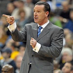 Pitt Basketball Head Coach Jamie Dixon