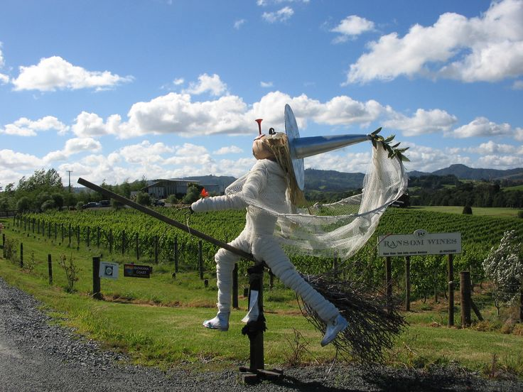 Winner - scarecrow competition