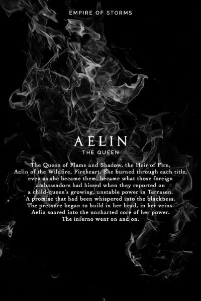 Empire of Storms - Aelin [Spoilers]