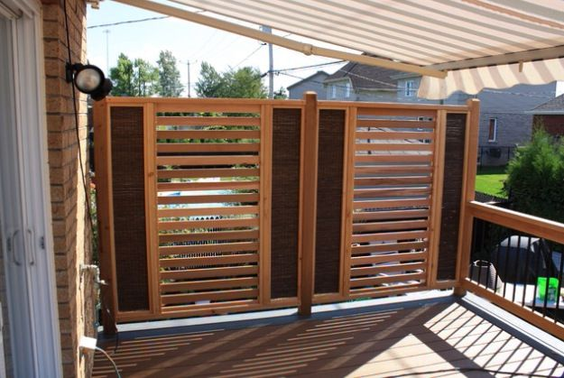Privacy Fence For Deck Or Patio Design Pinterest