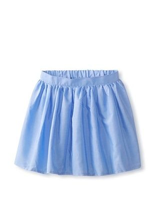 69% OFF American Apparel Kid's Full Woven Skirt (French Blue)