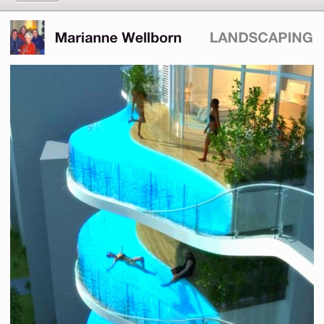 Pin by Taylor Preiss on WOW Balcony pool, Cool pools