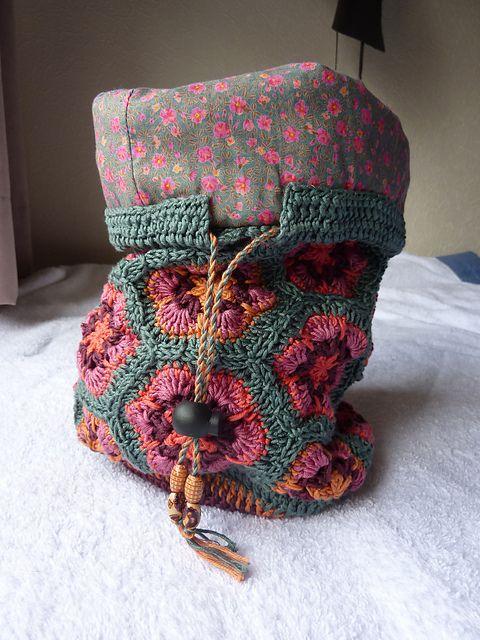 As 25 melhores ideias sobre Crochet African Flowers no ...