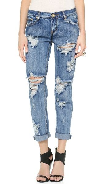 Boyfriend Jeans are a must!