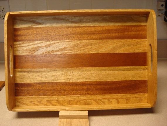 Serving Tray by MainStCrafts on Etsy, $40.00