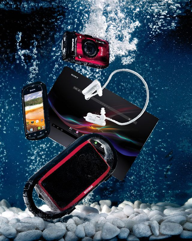 Tech Five Must-Have Waterproof Devices That Make a Splash