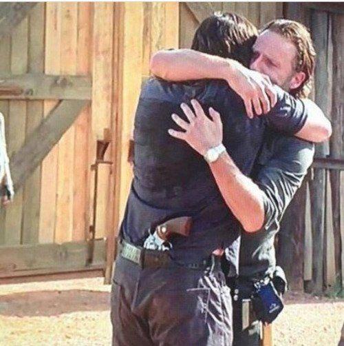 Rick & Daryl S7E8 I turned into a sobbing ninny