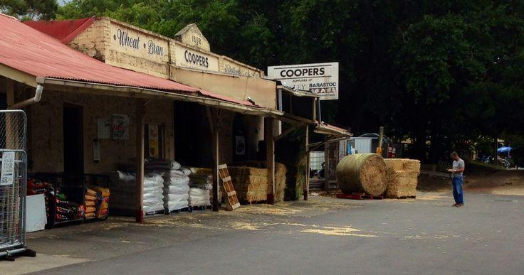 Old farm produce store South Australia