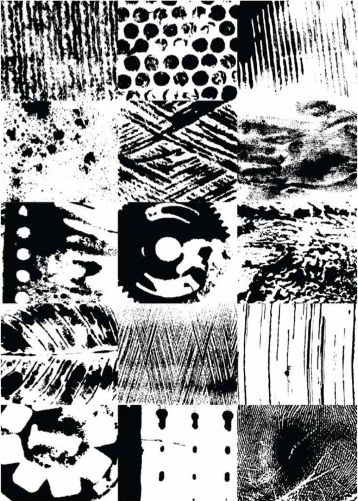 2013 2D 종이에 잉크 텍스쳐연습