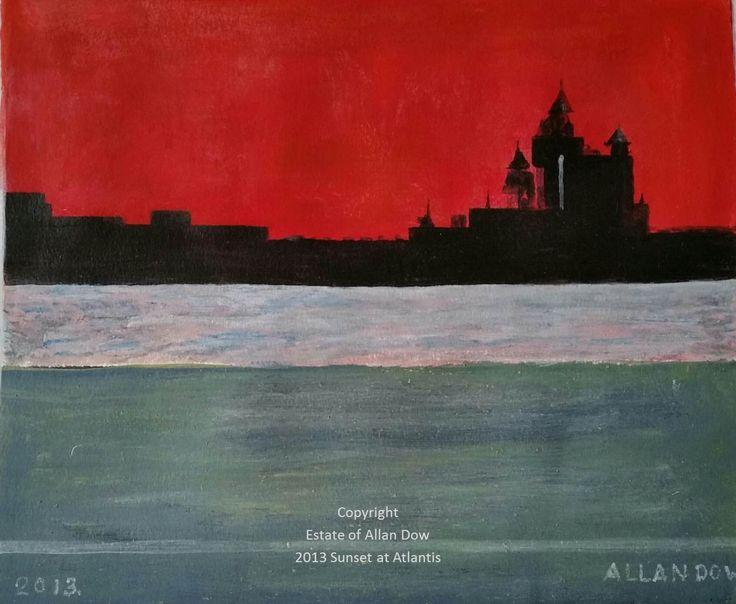 Atlantis Sunset 2013