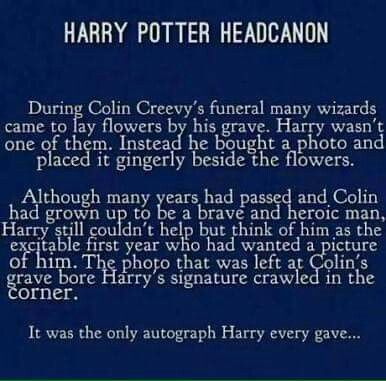 This is really making me feel sad because Colin was really young.