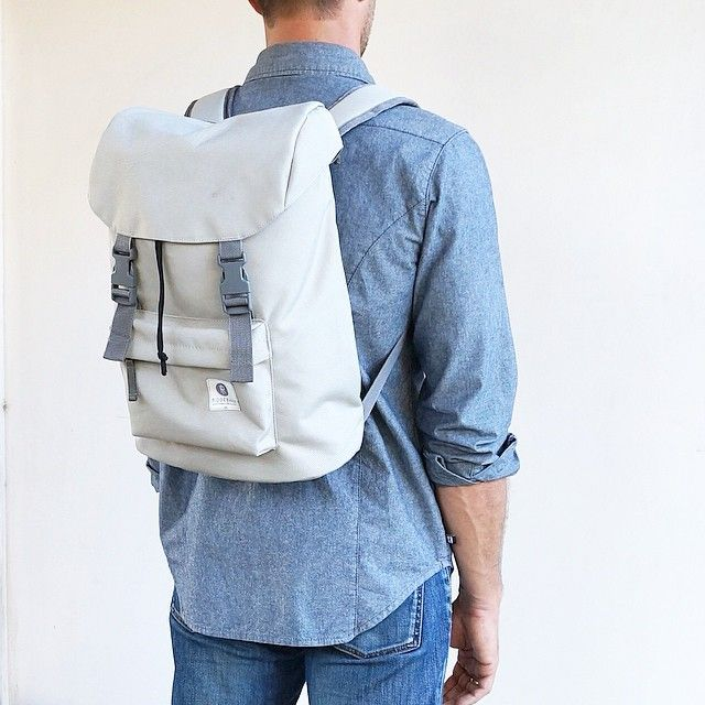 Hook backpack in light grey   Ridgebake @ridgebake Instagram photos