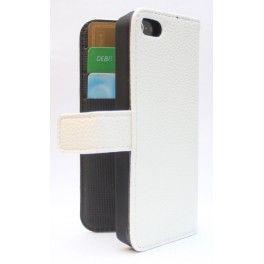 Apple iPhone 5c valkoinen puhelinlompakko.