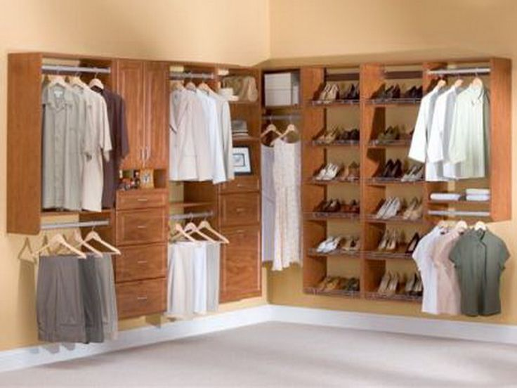 Wood Closet Organizer Systems