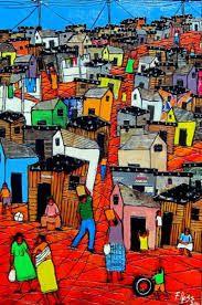 Afbeeldingsresultaat voor african township art