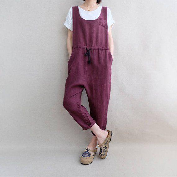 d74032ecb7f Women Overalls Comfortable Cotton Jumpsuits