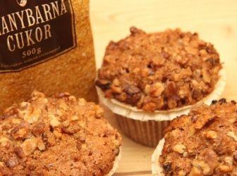 Almás-diós muffin recept: Finom almás diós muffin recept amely az év bármely…