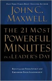 A great book on leadership.