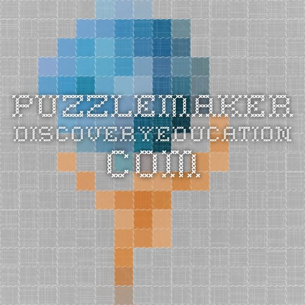 puzzlemaker.discoveryeducation.com