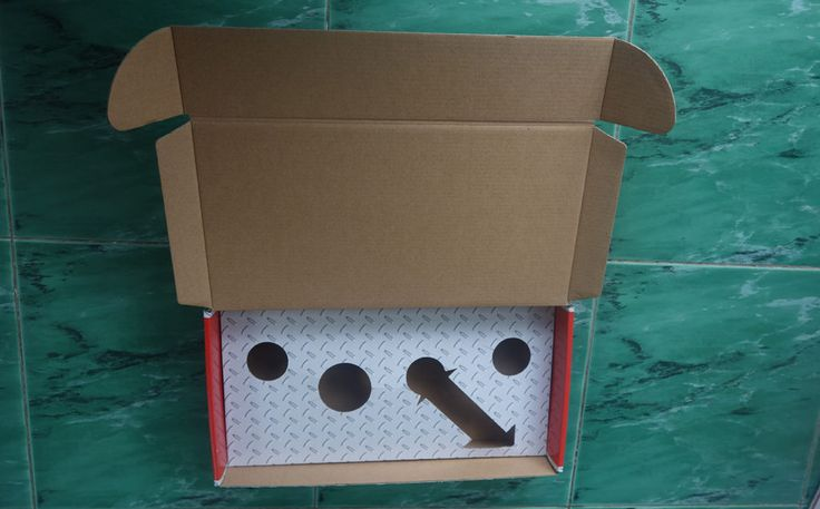 Die cut Corrugated Package Insert
