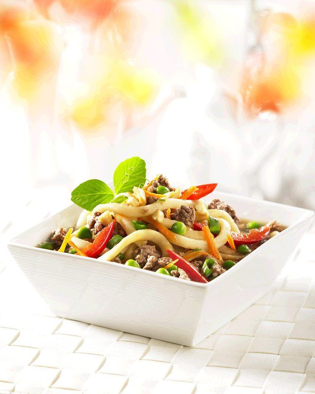 Asian Beef Noodle Bowl | Canadian Beef