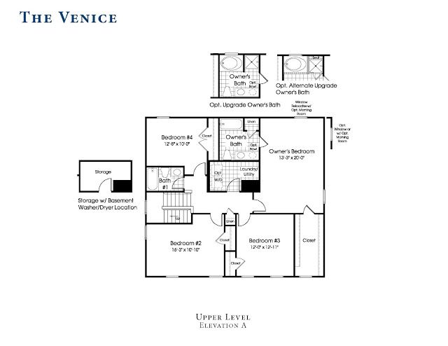 Ryan Homes Venice Floor Plan Ryan Homes The Venice Floor Plan