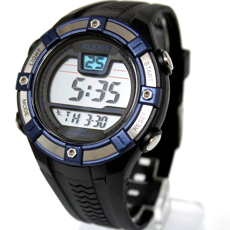 >> Click to Buy << ALEXIS Brand Sport Round Fitness Watches For Men Date Alarm BackLight Water Resistant Smart  Digital Watch DW381C #Affiliate
